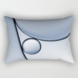 oil and water abstract I Rectangular Pillow