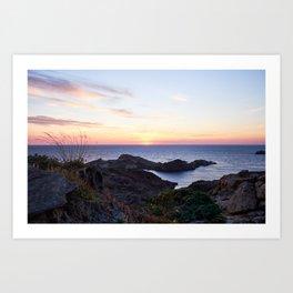 Sunrise Seascape Art Print