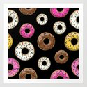 Funfetti Donuts - Black by notsniw