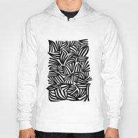 zebra Hoodies featuring zebra by junipat