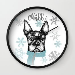 French Chill Wall Clock
