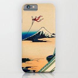 Katsushika Hokusai - Toto Asakusa Honganji iPhone Case