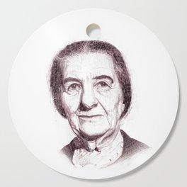 Golda Meir Cutting Board