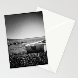On an island in Maine Stationery Cards
