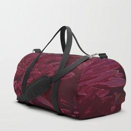 Burgundy Chrysanthemums Duffle Bag