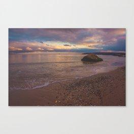 Varna sunset Canvas Print