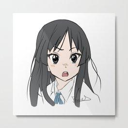 Mio Akiyama Metal Print