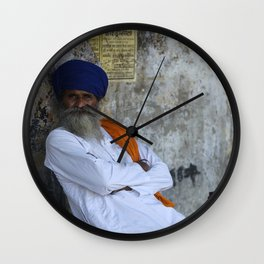 Sikh Man Wall Clock