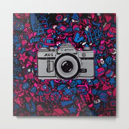 canon retro art Metal Print