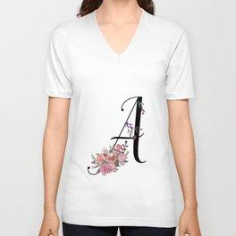 Modern Calligraphy Unisex V-Neck