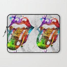The Stones Logo Grunge Laptop Sleeve