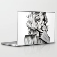 rihanna Laptop & iPad Skins featuring Rihanna by Ellie Wilson Designs