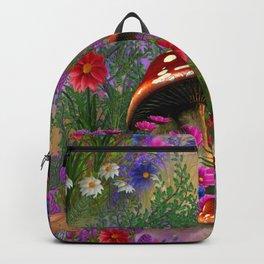 Fantasy Mushroom Forest Backpack