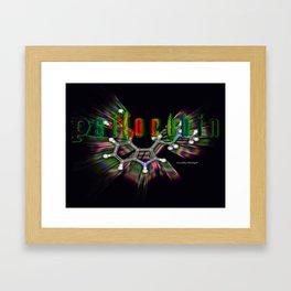 Psilocybin Framed Art Print