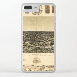 Dallas 1892 Clear iPhone Case