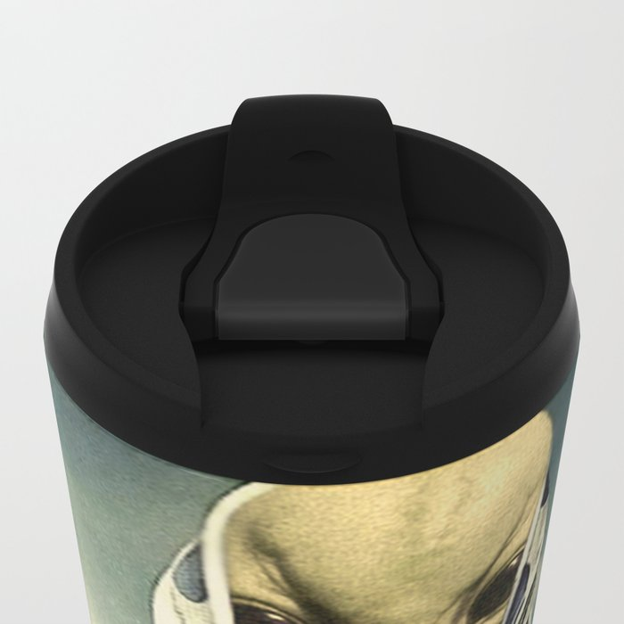 NUMBER 35 Metal Travel Mug