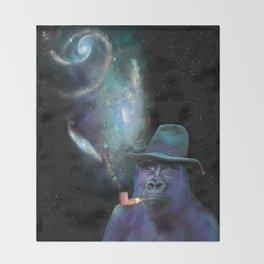 Cosmic Toker Throw Blanket