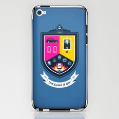 The Game is On! - blue version iPhone & iPod Skin