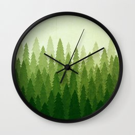 C1.3 Pine Gradient Wall Clock