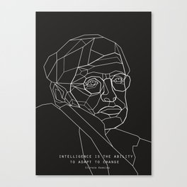 Stephen Hawking Quote Canvas Print