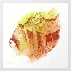 The Core of Nature Art Print