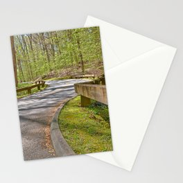Rock Creek Winding Road Stationery Cards