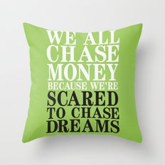 Dreamchaser Throw Pillow