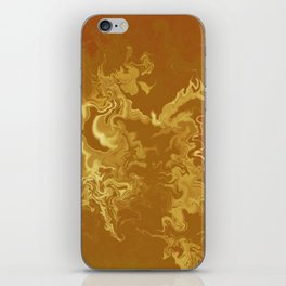 Dragon fire abstract iPhone Skin