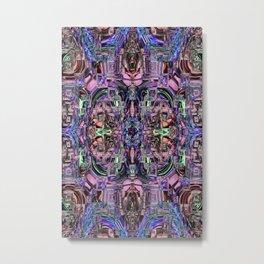 Ridged Patterns 2 D Metal Print