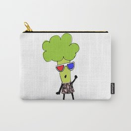 Lady Broccoli in 3D Series pt. 1 Carry-All Pouch