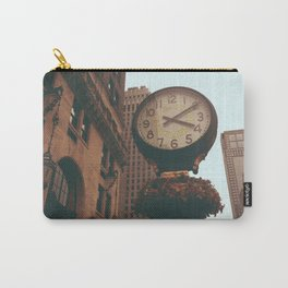 The Sherry Netherland Clock Carry-All Pouch