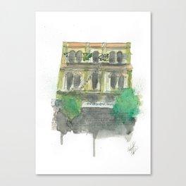 60 Cuba Street Canvas Print