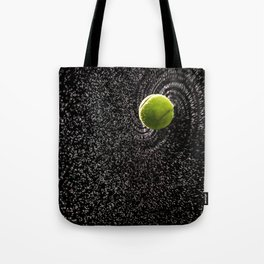 Spin Serve     Tennis Ball Tote Bag