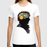 conan T-shirts featuring Sherlock Phrenology by Wharton