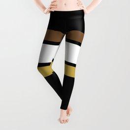 Team Colors 2... caramel, brown Leggings