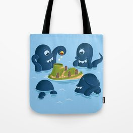 The mystery of Easter Island Tote Bag