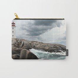 Peggy's Cove Light House -- Nova Scotia Carry-All Pouch