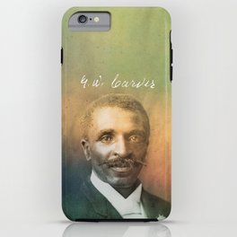 Veneer. Carver. 1864-1943. iPhone Case