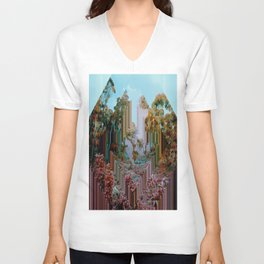 the crystal forest Unisex V-Neck