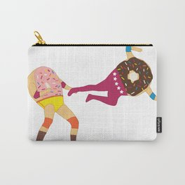 Dropkicks and Donuts Carry-All Pouch