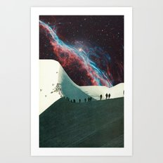 'Cosmological Expedition'  Art Print