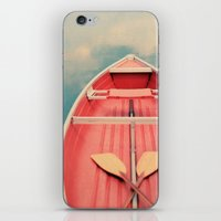 Floating On A Cloud iPhone & iPod Skin