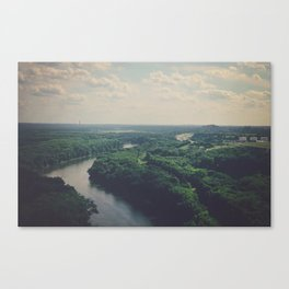 Flying Above St. Paul Canvas Print
