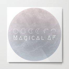 Magical AF Metal Print