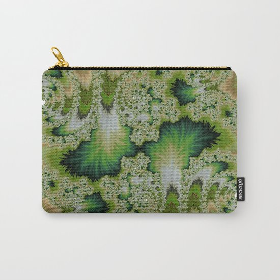 the green of spring abtract  Carry-All Pouch