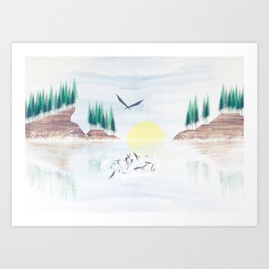 Myth One Art Print