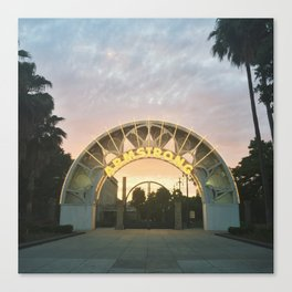 Armstrong Sunset Canvas Print