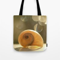 seashell Tote Bags featuring Seashell... by Nature In Art...