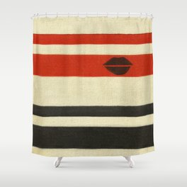 The Lady Vanishes Shower Curtain
