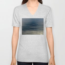 Beautiful Calm Coastal Waters Unisex V-Neck